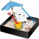 Executive Mini Relaxation Beach Break in a Box Sandbox For Office Home Deck Top