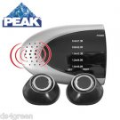 PEAK PERFORMANCE PKCORE Auto Car SUV TRuck Dual Sensor Wireless Back-Up System
