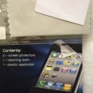 2 iPhone 4 4G 4s Screen Protector Cover Shield Screen Guard 1 Cleaning Cloth