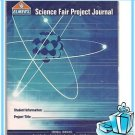 Elmer's School Student Personal Data Log Science Fair Project Note Book Journal