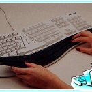 ALLSOP Contoured Soft Keyboard Comfort Wrist Rest Pad