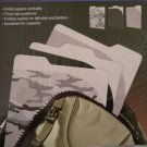 Find it Three Tab Backpack Folders in Assorted Camoflage & Solid Patterns 3 pcs