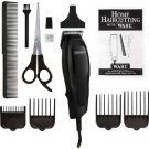 WAHL Performer Clipper Scissors Styling Comb Haircutting 10 Piece Grooming Kit