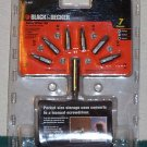 BLACK & DECKER 7pc Handy Driver  Screwdriving Set