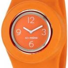 So-Mine Women's SL-0109 SlapWear Silicone Slap Watch Wristwatch ORANGE