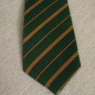ST. PATRICK'S Patty's DAY Irish Men's Neck TIE GREEN & GOLD Clovers Shamrock