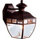 NEW HAMPTON Exterior Amalfi Yard light Fixture Rust Finish