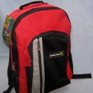 Overland GENERATION X Gadget-Ready CAMPING HIKING SCHOOL Work BACKPACK Bag RED