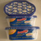 Lot of 6 DampRid 30 Days Disposable Moisture Absorber 5.25oz Sealed Safety Cover