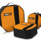 Toughbuilt Octagon Tool Mate Home Work Organizing Storage Soft Box Bag, 3-Pack