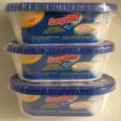 3 DampRid 30 Days Disposable Moisture Absorber 5.25oz with Sealed Safety Cover