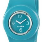 So-Mine Women's SL-0104 SlapWear Silicone Slap Watch Wristwatch in TURQUISE BLUE