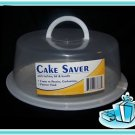 2 Cake Food Saver Carrier Storage Locking Lid & Handle
