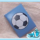 SOCCER Daily Lined Journal Notepad Notebook SPORTS 80 Sheets Diary BLUE