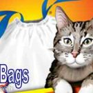 Hefty 1.5 MIL Large Jumbo Litter Box Can Drawstring Liners Bags 40 ct