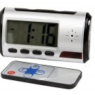 Mini Digital Color Alarm Clock with Built-in DVR - HC-ALCLK-DVR