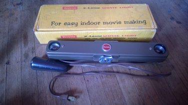Kodak Brownie Vintage Movie Light 2-Lamp