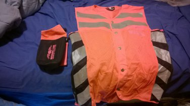 Reflective Safety Vest - Missing Link - Orange - Medium
