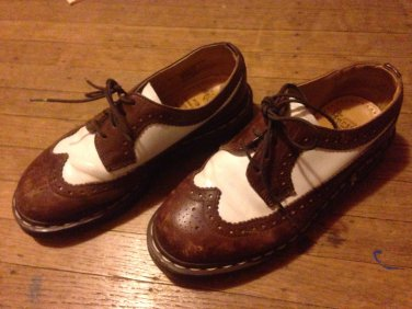 Doc Martens Wingtip Shoes Size 5 mens or 7 womens