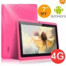 Tablet PC Q88 Allwinner A13 Android 4.0 512MB 4GB Single Camera WIFI Pink color