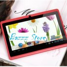 Tablet PC Q88 Allwinner A13 Android 4.0 512MB 4GB Single Camera WIFI Red color