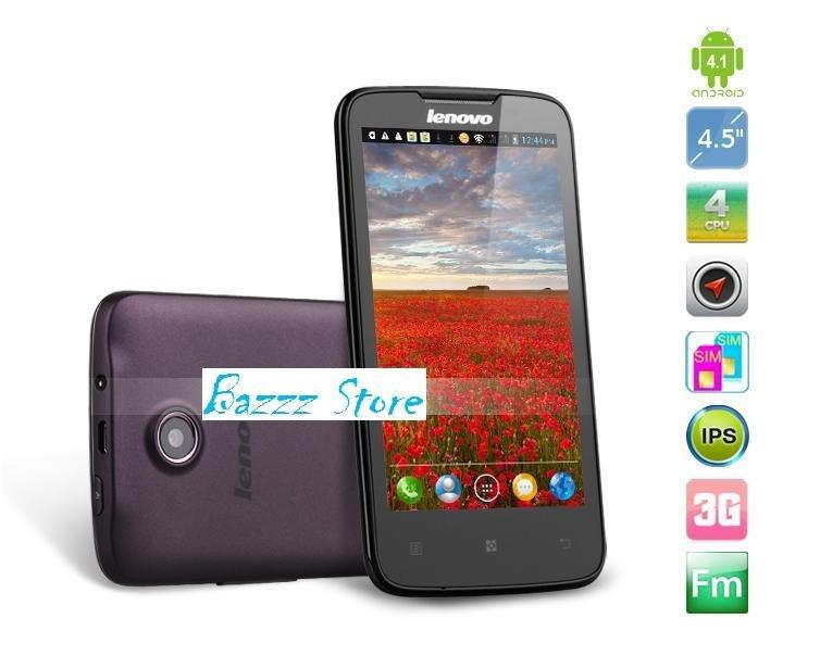 "Lenovo A820 android phone 4.5"" IPS Quad Core 1.2Ghz 1GB RAM 4GB Dual SIM 8.0MP Camera"