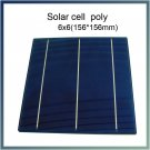 3.9W x 10 piece/lot 6x6 (153x153mm) Poly crystalline silicon solar cells DIY solar panel