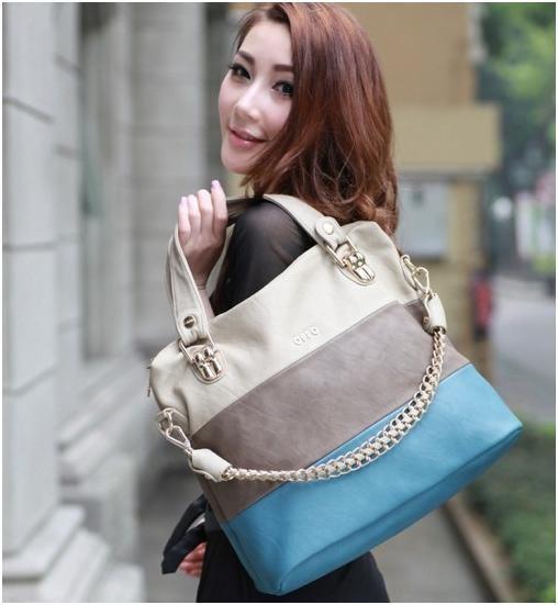 OPPO Women Fashion Shoulder Bag Fresh Design Elegant Soft PU Leather Bag