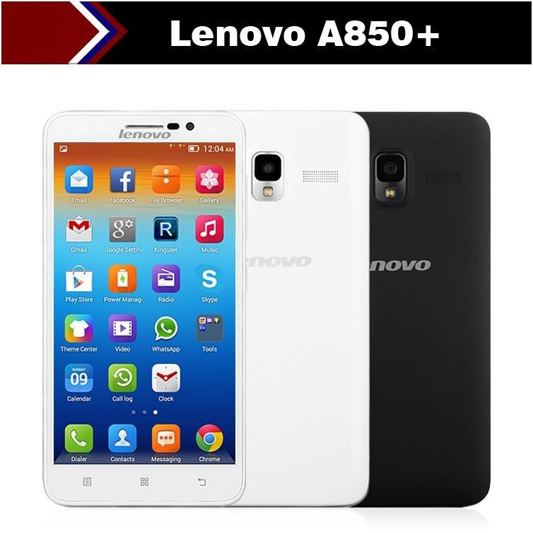 "Smartphone Lenovo A850 5.5"" Plus Octa core A850+  IPS MTK6592 GPS Dual SIM 5.0MP"