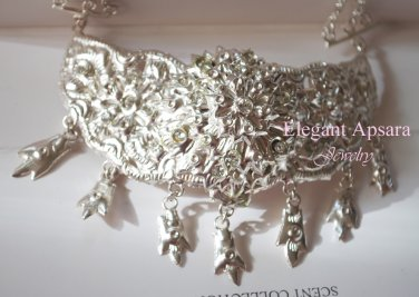 Khmer Cambodian Silver Wedding Jewelry sash Rachana Khmer Boran Khsae Chheang Cambodian Cambodia