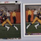 1991 Bowman Topps Vault Football Match Print Photo Proof LA Rams Darryl Henley 1/1