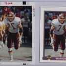 1991 Bowman Topps Vault Football Match Print Photo Proof Redskins Markus Koch 1/1