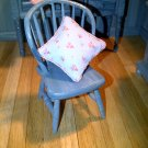 Dolls house Chair Shabby Chic Blue