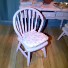Dolls house Chair Shabby Chic Pink