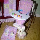 Dolls House High Chair Handmade