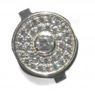 New Silver Diamond Crystal Home Button Fit For iPhone 4 4G