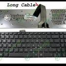 New US Laptop Keyboard For ASUS K55 K55A K55VD K55VJ K55VM K55VS Black