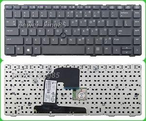 Genuine New black US keyboard fit HP EliteBook 8470p 8470w Probook 6470b 6475b