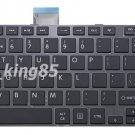 New black US UI keyboard fit Toshiba 0KN0-CK3US13 MP-11B93US-930B V000320340