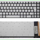 New UK silver backlit keyboard fit ASUS 0KN0-N43UK23 0KNB0-6629UK00 9Z.N8BBU.N0U