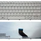 New US white keyboard fit Packard Bell EasyNote EN NM85 NM86 NM87