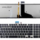New US layout  Backlit keyboard fit Toshiba 9Z.N7UBC.R01 NSK-TVRBC 01