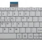 New white UI layout keyboard fit Toshiba H000045970 0KN0-ZW3US23 NSK-TVBSU 01
