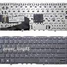 New black US keyboard fit HP EliteBook 840 G1 850 G1 ZBook 14 Mobile Workstation