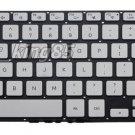 NEW US Silver backlit Keyboard fit Samsung NP780Z5E NP870Z5E
