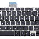 New US keyboard fit Toshiba Satellite L50-A L50D-A L50DT-A L50T-A silver frame