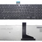 New black US Chiclet keyboard fit Toshiba H000047260 0KN0-C31US11 V138162AS1