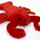 Y BEANIE BABIES BABY PINCHERS the RED LOBSTER MWMT DOB 6-19-93 style 4026 PVC