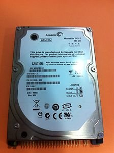 SeaGate Momentus 160GB 2.5 Inch IDE Hard Drive For Laptops