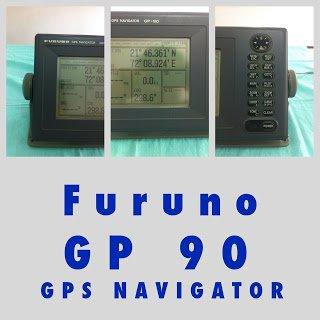 Furuno GP90 GPS Navigator with Antenna for Boats and Yachts